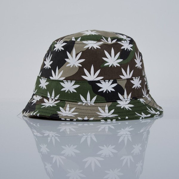 Cayler & Sons bucket hat Best Budz woodland / white (GL-CAY-AW15-BH-06)