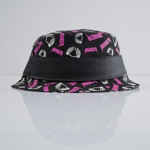 Cayler & Sons bucket hat Brookulus black / pink / green (CAY-MRCY15-BH-01)