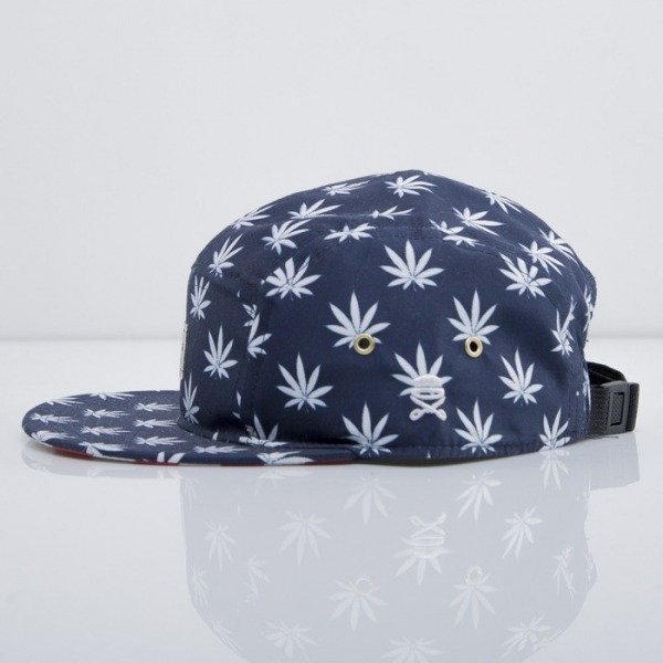 Cayler & Sons cap 5-panel Budz n Stripes deep navy/white/red CAY-SU14-19-01-OS