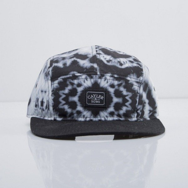 Cayler & Sons cap 5-panel Swirl black/mc CAY-SU14-20-01-OS