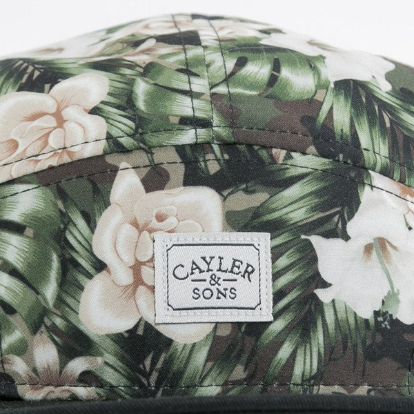 Cayler & Sons cap 5Panel Brooklyn Solidier mc / black / white (WL-CAY-AW15-12-OS)