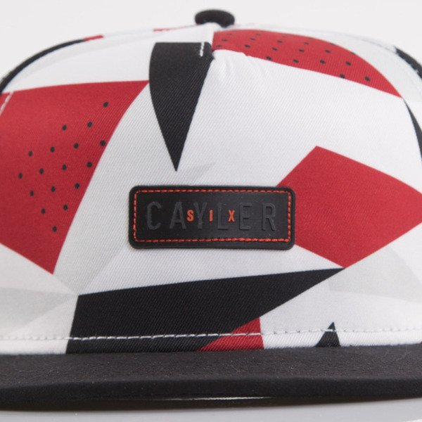 Cayler & Sons cap snapback 1991 Square red / white / black (WL-CAY-AW15-25-OS)