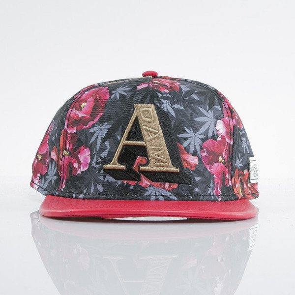Cayler & Sons cap snapback A-Dam tulip camo / red / gold (GL-CAY-AW15-20-OS)