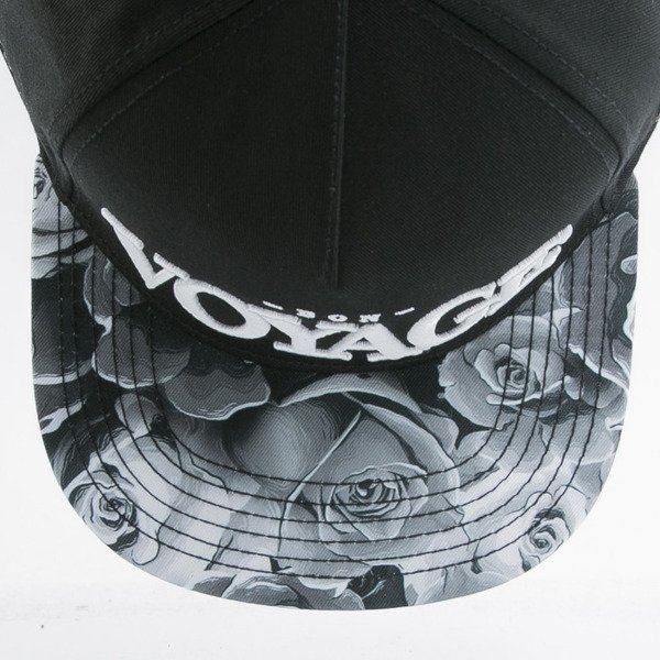 Cayler & Sons cap snapback Bon Voyage black / white (WL-CAY-AW15-32-OS)