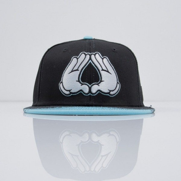 Cayler & Sons cap snapback Brooklyn Diner black / neon blue (CAY-SS15-09-01)