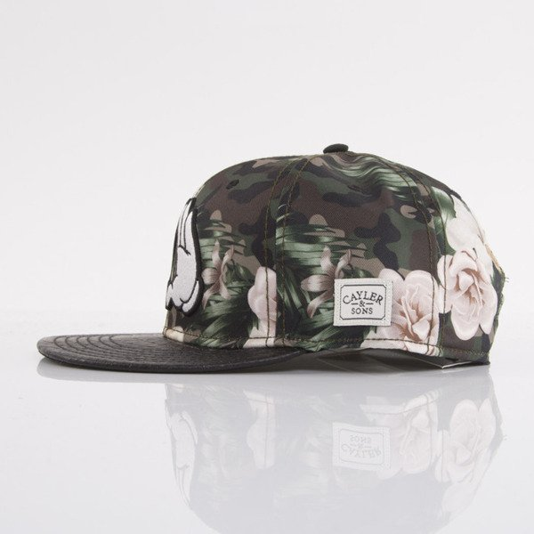 Cayler & Sons cap snapback Brooklyn Soldier mc / black snake / white (WL-CAY-AW15-08-OS)