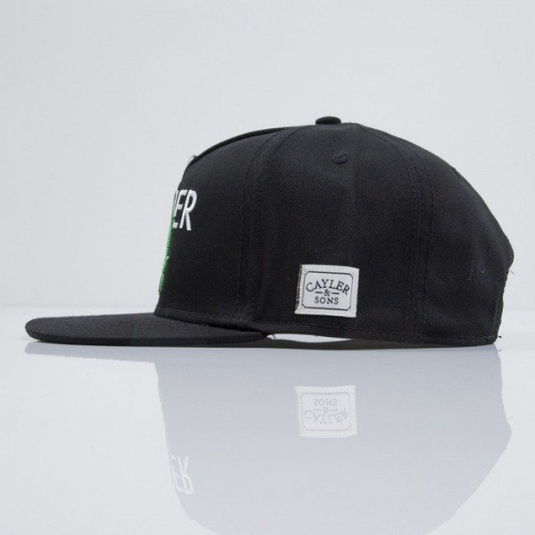 Cayler & Sons cap snapback Cayler black / green / white (CAY-SS15-05-01)