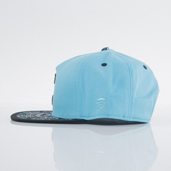 Cayler & Sons cap snapback Cee Gaudi turquoise / mc / navy (GLD-CAY-AW15-07-OS)