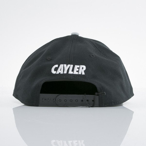Cayler & Sons cap snapback Eric black / grey / white (WL-CAY-AW15-18-OS)