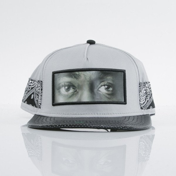 Cayler & Sons cap snapback Eyes On Me grey / black / paisley (WL-CAY-AW15-19-01-OS)