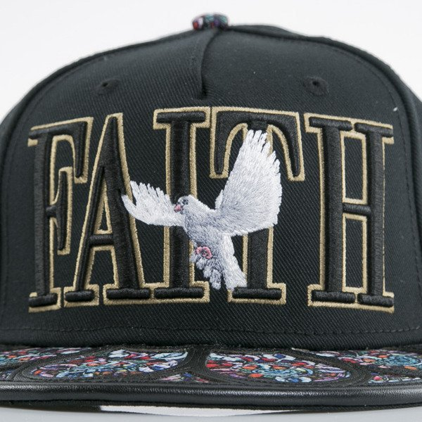 Cayler & Sons cap snapback Faith black / gold / mc (WL-CAY-AW15-29-OS)
