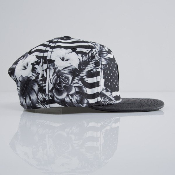 Cayler & Sons cap snapback Flagged black / black snake / white (CAY-SU15-09-OS)