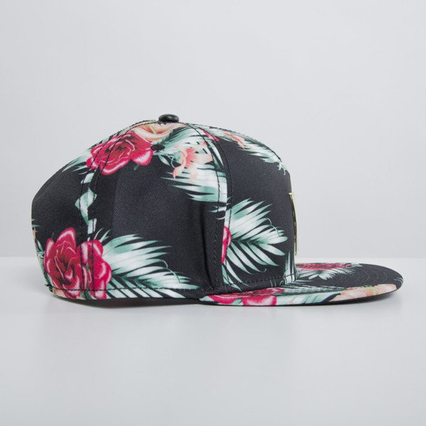 Cayler & Sons cap snapback Flowers mc / gold GLD-CAY-HD15-08