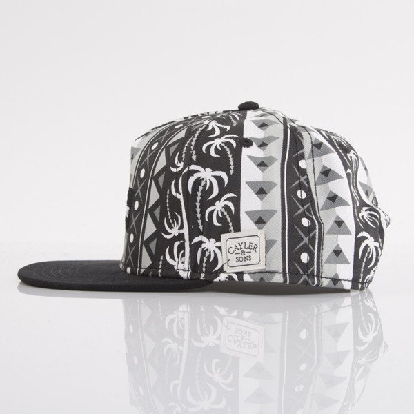 Cayler & Sons cap snapback Freedom black / grey / white (WL-CAY-AW15-14-OS)