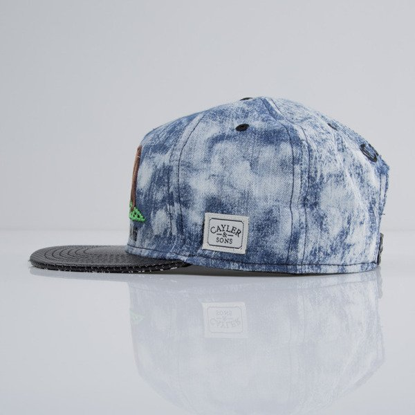 Cayler & Sons cap snapback G Thang whased denim / black / mc (CAY-SU15-23-OS)