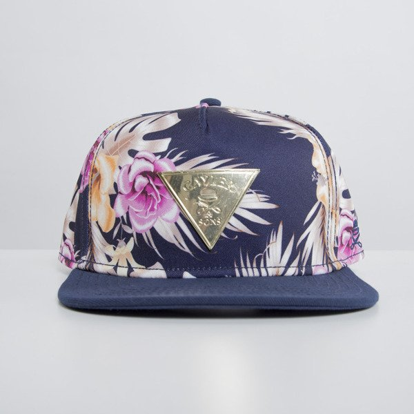 Cayler & Sons cap snapback Hawaiian Flowers mc / navy GLD-CAY-HD15-06