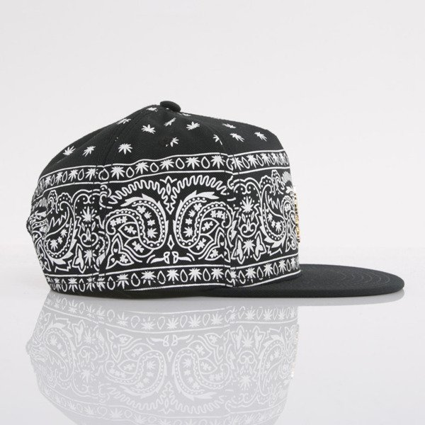 Cayler & Sons cap snapback Hazely black / white / gold (GL-CAY-AW15-24-01-OS)