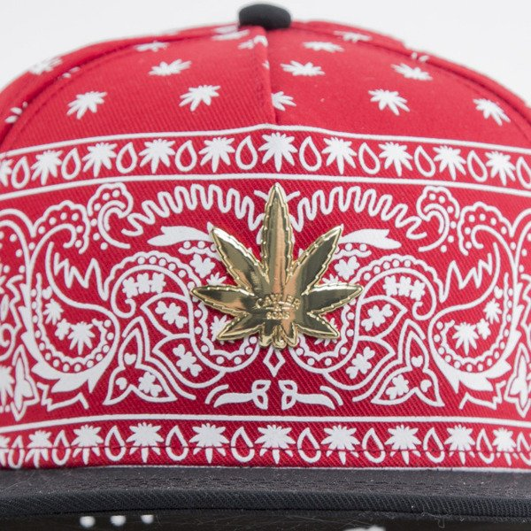 Cayler & Sons cap snapback Hazely red / white / gold (GL-CAY-AW15-24-03-OS)