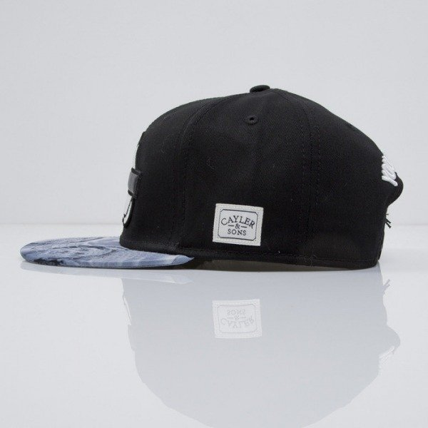 Cayler & Sons cap snapback I Got It black/mc/black leather