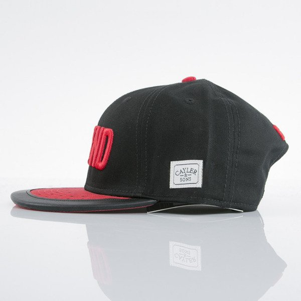Cayler & Sons cap snapback Legend black / red (WL-CAY-AW15-23-OS)