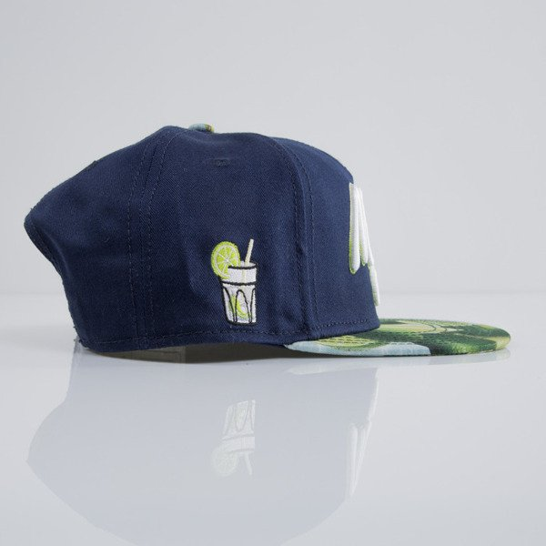 Cayler & Sons cap snapback Mojito Madness navy / limes / white (CAY-SU15-29-OS)