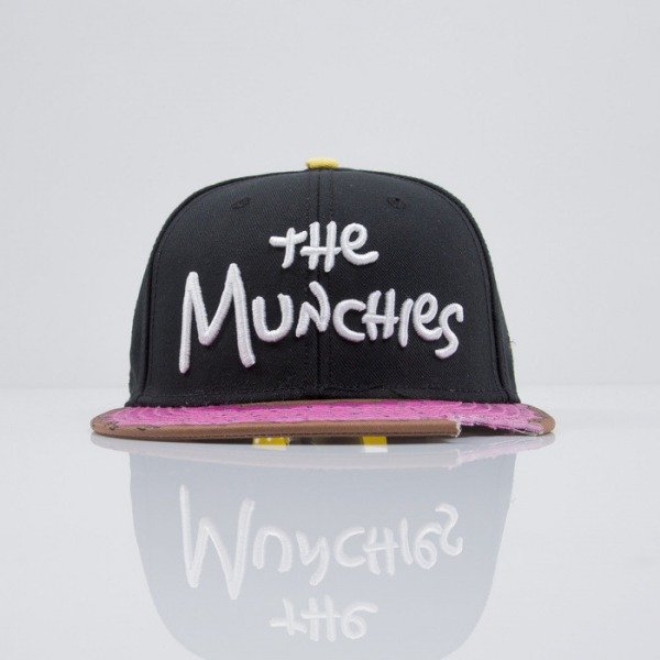 Cayler & Sons cap snapback Munchies black / pink donut / white (CAY-HD-15-07)