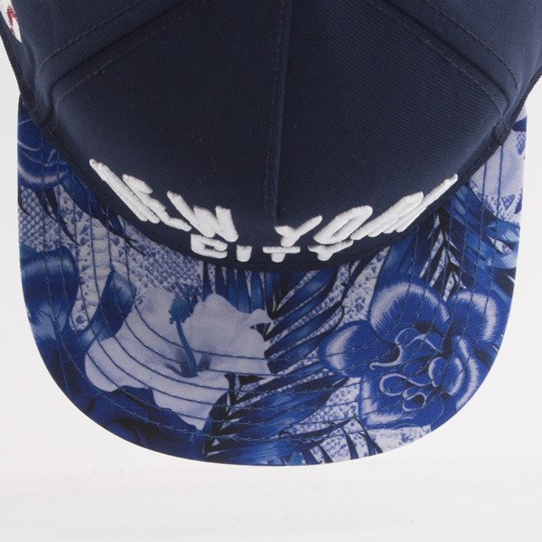 Cayler & Sons cap snapback NYC navy / mc / white (WL-CAY-AW15-10-OS)