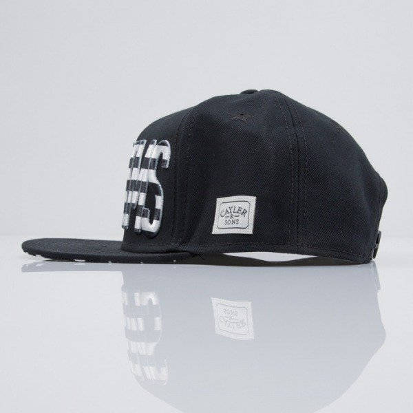 Cayler & Sons cap snapback Ninetynine black / white (CAY-SS15-46-01)