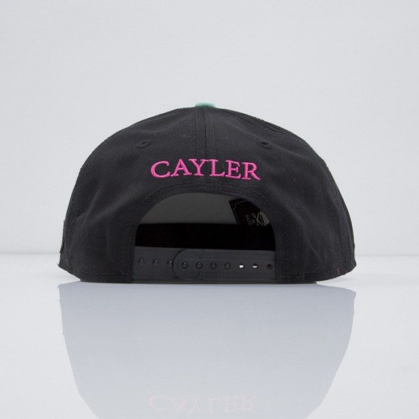 Cayler & Sons cap snapback Paris Life black / mc (CAY-SS15-20-01)