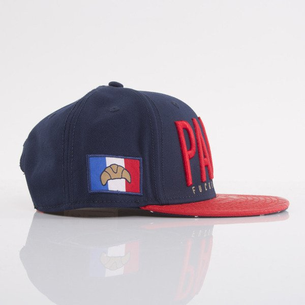 Cayler & Sons cap snapback Paris navy / red snake / white (WL-CAY-AW15-04-OS)