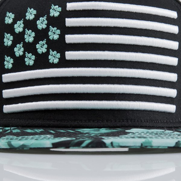 Cayler & Sons cap snapback State 50 black / mint / white (CAY-SU15-12-OS)