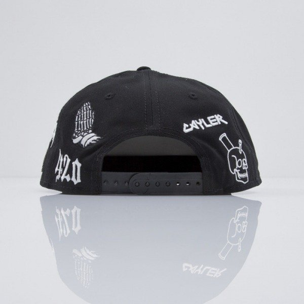 Cayler & Sons cap snapback Tour black / white (CAY-SS15-08-01)
