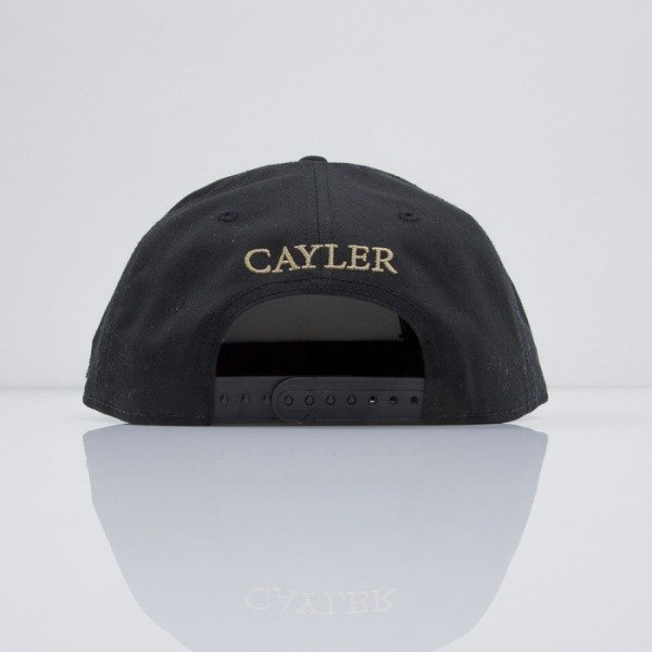 Cayler & Sons cap snapback Up In Smoke black / gold / mc (CAY-SS15-52-01)