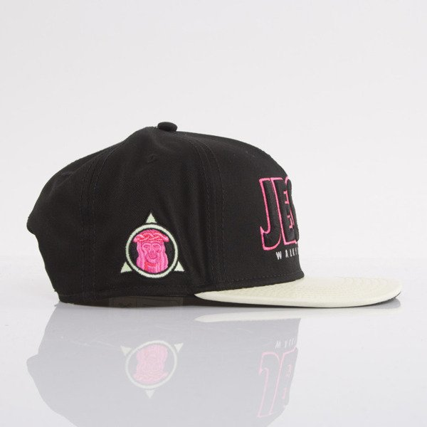 Cayler & Sons cap snapback Walks With Me black / glow in the dark / pink (WL-CAY-AW15-27-OS)