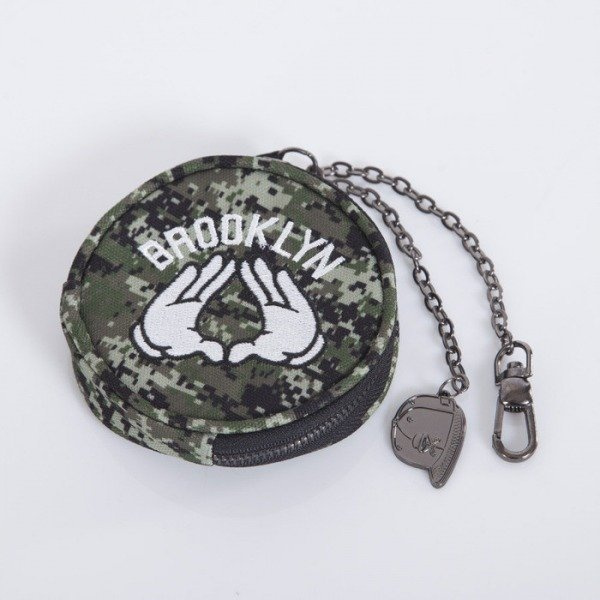 Cayler & Sons coin pouch Brooklyn digi camo / white CAY-AW14-CP-01