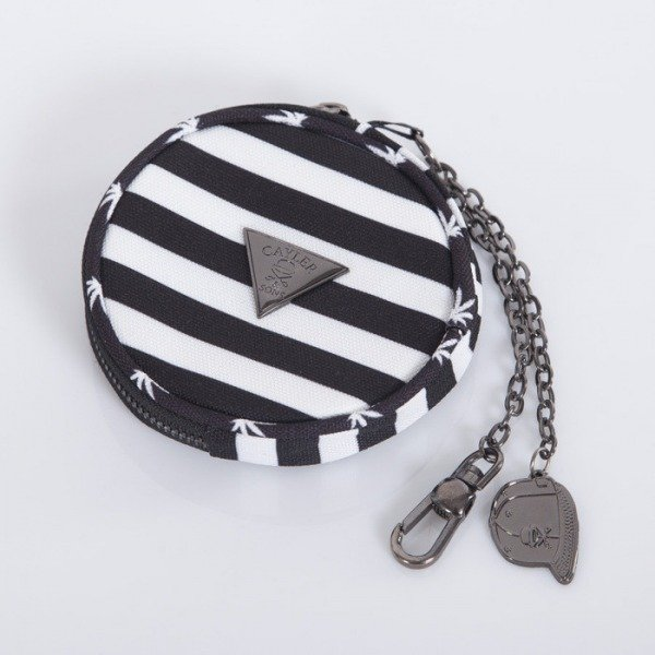 Cayler & Sons coin pouch V$A black / white CAY-AW14-CP-04