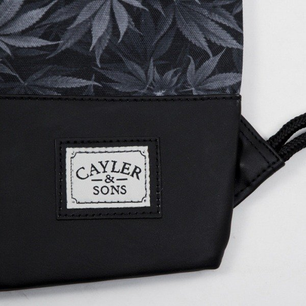 Cayler & Sons gym bag Blunted black / white (CAY-SS15-GB-03)