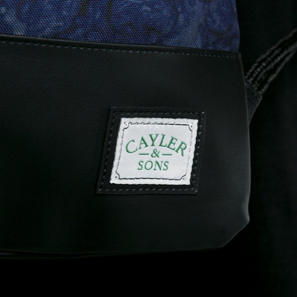 Cayler & Sons gym bag Bubbles And Bongs black / blue bubbles (GL-CAY-AW15-GB-02-OS)