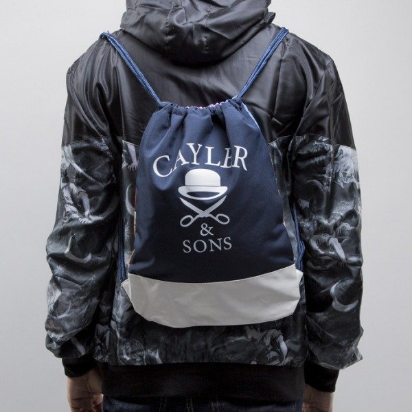 Cayler & Sons gym bag Cali Love navy / white (CAY-SS15-GB-04)