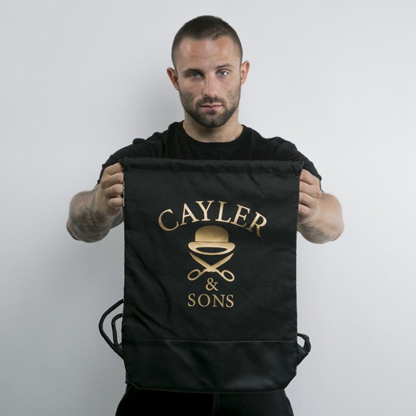 Cayler & Sons gym bag Faith black / gold / mc (WL-CAY-AW15-GB-05-OS)