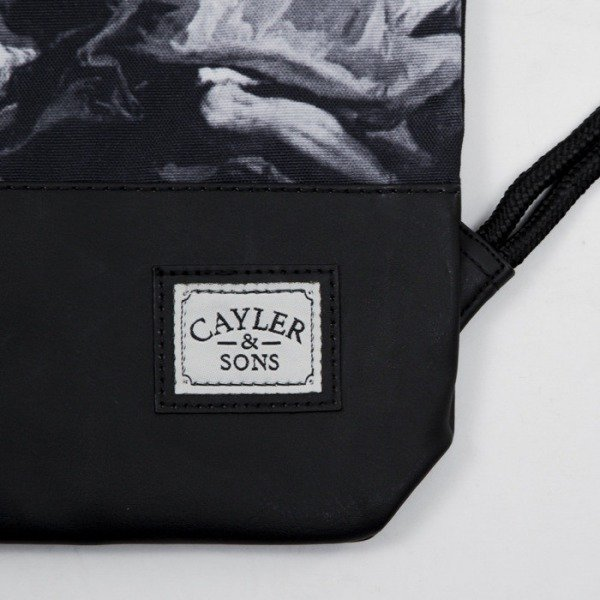 Cayler & Sons gym bag Fear God black / white (CAY-SS15-GB-05)