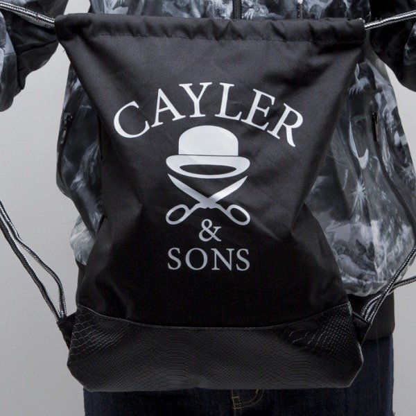 Cayler & Sons gym bag Go Hard black / white (CAY-SS15-GB-06)