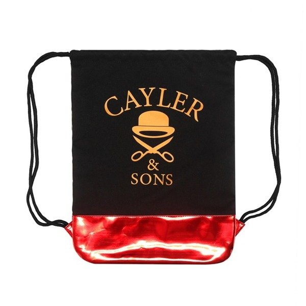 Cayler & Sons gym bag Ironic A-Dam black / red / gold (GL-CAY-HD15-GB-01)