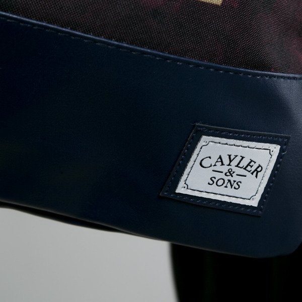 Cayler & Sons gym bag Kingdom Come navy / maroon  (WL-CAY-AW15-GB-07-OS)