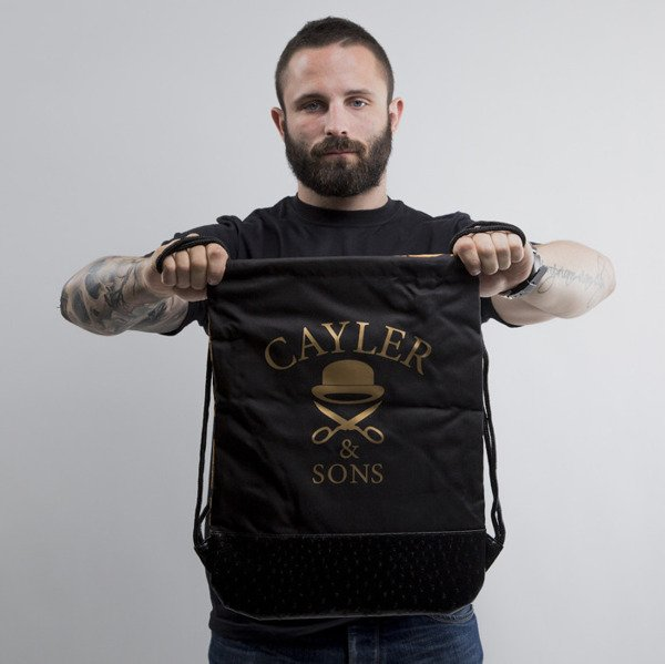 Cayler & Sons gym bag Migos gold / black (CAY-SU15-GB-06-OS)