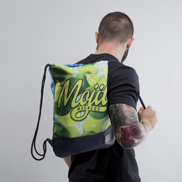 Cayler & Sons gym bag Mojito Madness mc / navy (CAY-SU15-GB-11-OS)