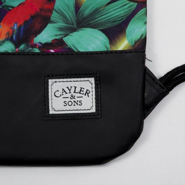 Cayler & Sons gym bag Paris Life black / mc (CAY-SS15-GB-11)