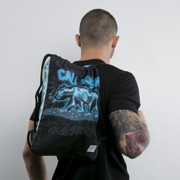 Cayler & Sons gym bag Rayz Reversible black / x-ray (GL-CAY-AW15-GB-03-OS)