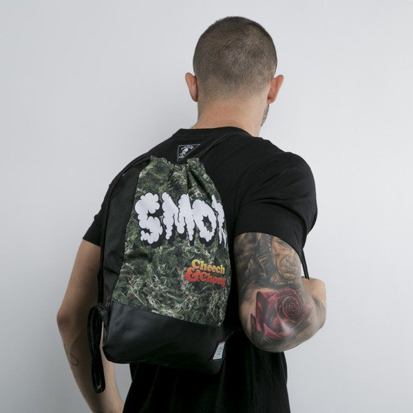 Cayler & Sons gym bag Still Smokin green budz / black / mc (CAY-CC-SUM15-GB-02-OS)