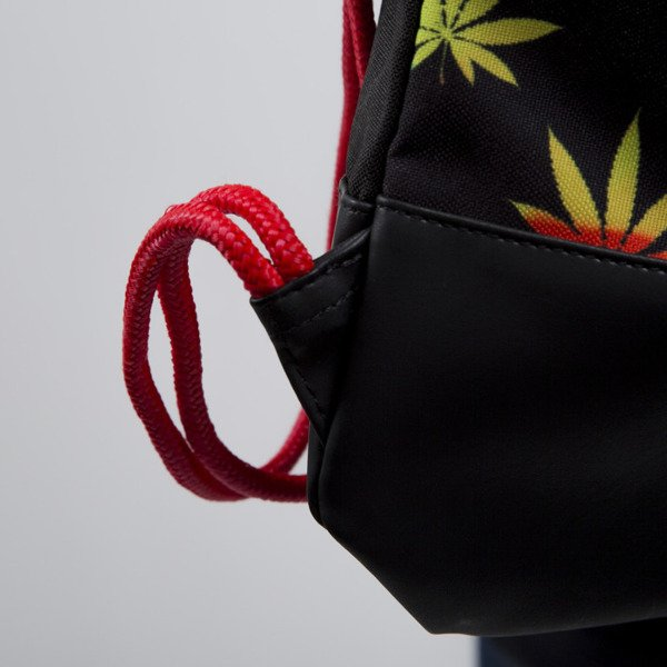 Cayler & Sons gym bag Sweet Sensi black / rasta (CAY-SU15-GB-05-OS)